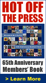 Broward Art Guild 65th Anniversary Members' Book