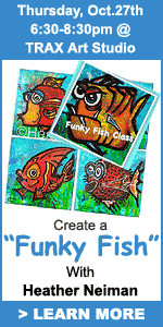 Funky Fish Workshop with heather neiman