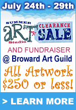Summer Art Studio Clearance Sale
